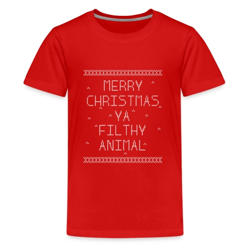 Merry Christmas Filthy Animals - Kids' Premium T-Shirt