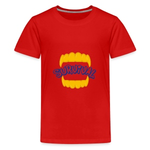 SURVIVAL - Kids' Premium T-Shirt