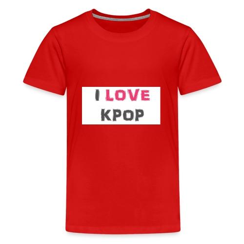 love kpop - Kids' Premium T-Shirt
