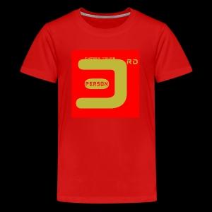 3P Red - Kids' Premium T-Shirt