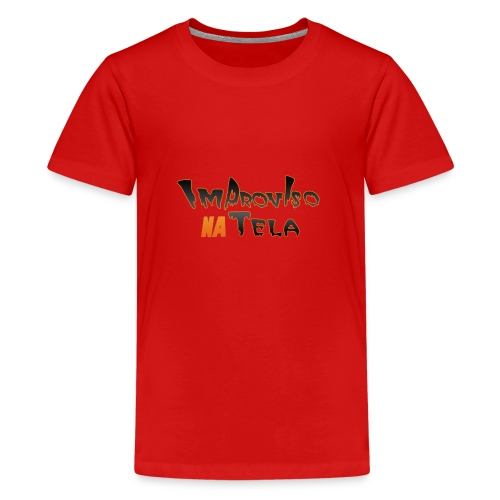 ImprovisoNaTela - Kids' Premium T-Shirt