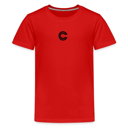 crazy new logo - Kids' Premium T-Shirt