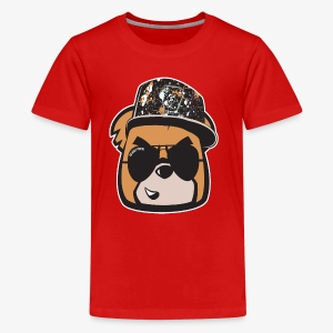 Bearly Fresh FACEONLY - Kids' Premium T-Shirt