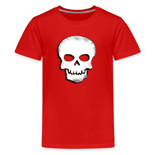Skull Zone Logo - Kids' Premium T-Shirt
