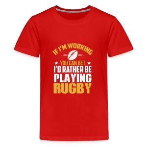 Great Gift Ideas For Rugby Lover. - Kids' Premium T-Shirt