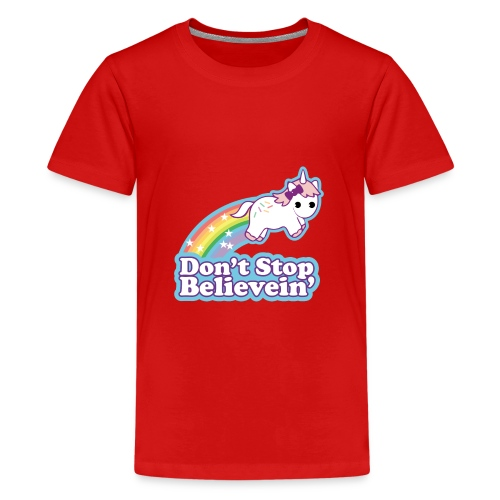 Don't Stop Believe'in - Kids' Premium T-Shirt