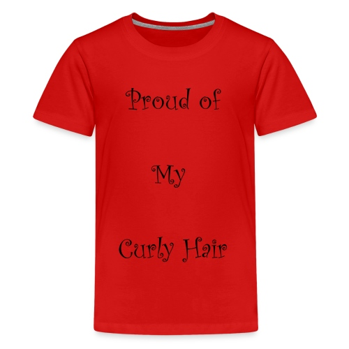 Proud of My Hair Hair - Kids' Premium T-Shirt
