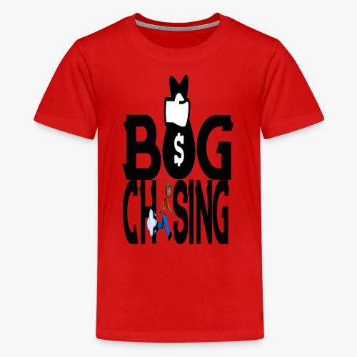 BAG CHASING TEES - Kids' Premium T-Shirt