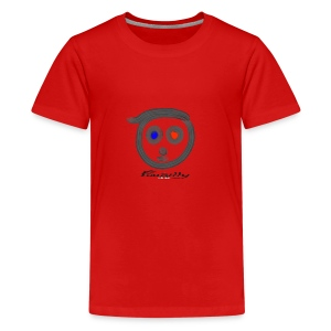 Blue, red FuuSilly - Kids' Premium T-Shirt