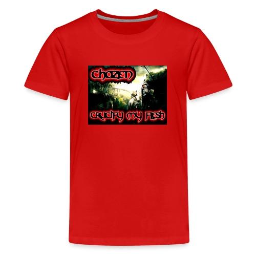 Crucify my flesh - Kids' Premium T-Shirt