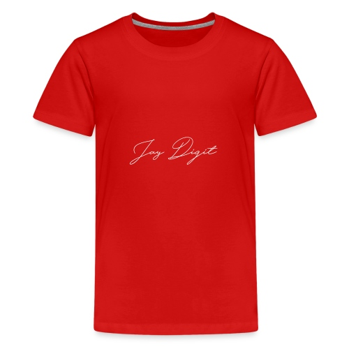 Jay Digit Basic T-Shirt - Kids' Premium T-Shirt