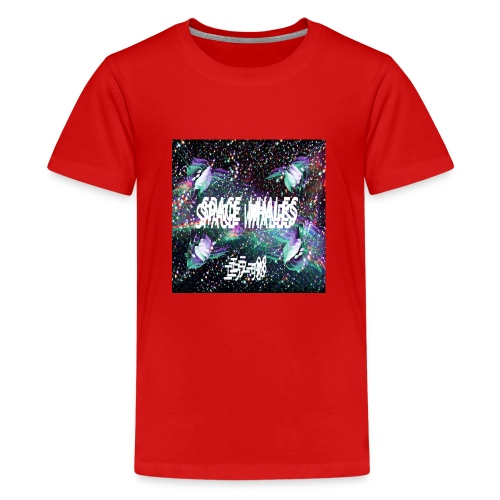 Space Whales Album Cover - Kids' Premium T-Shirt