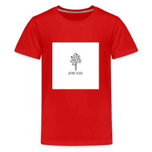 Jevins Vlogs - Kids' Premium T-Shirt