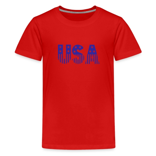 USA blue - Kids' Premium T-Shirt