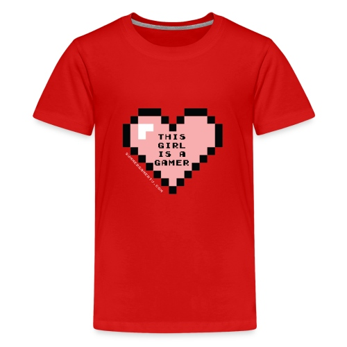 summergamertv t shirt pink black 01 - Kids' Premium T-Shirt