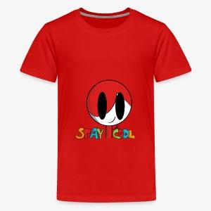 Stay Cool Kids Shirt by GamingKid3838 - Kids' Premium T-Shirt