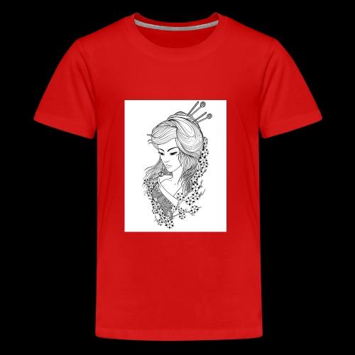 Geisha girl - Kids' Premium T-Shirt