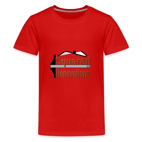 Squared Renovations LLC - Kids' Premium T-Shirt