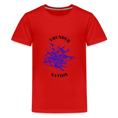 Thunder Nation Purple Star - Kids' Premium T-Shirt