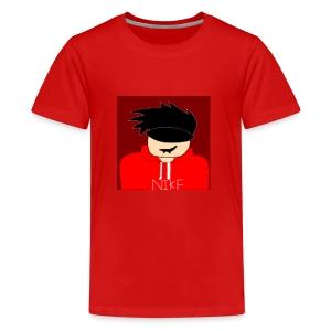 my youtube roblox GFX icon - Kids' Premium T-Shirt