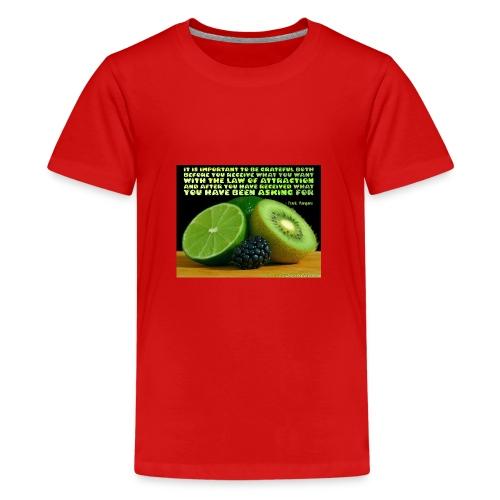 Be Grateful - Kids' Premium T-Shirt