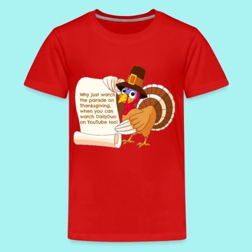 Thanksgiving Turkey - Kids' Premium T-Shirt