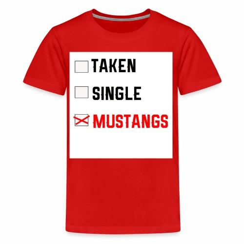 Taken-Single-Mustangs - Kids' Premium T-Shirt