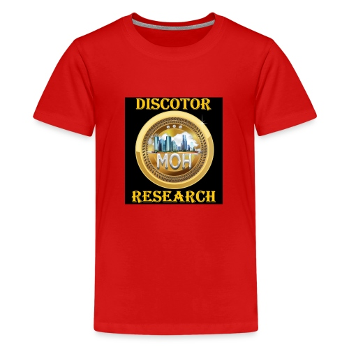 Discotor Research - Kids' Premium T-Shirt