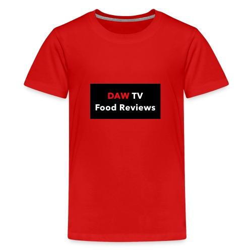 DAW TV Food Reviews - Kids' Premium T-Shirt