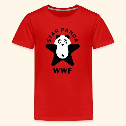 Cute Panda - Kids' Premium T-Shirt