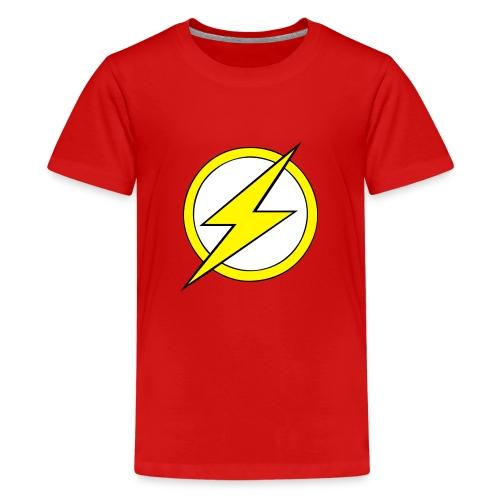 Kid Flash Logo - Second Channel - Kids' Premium T-Shirt