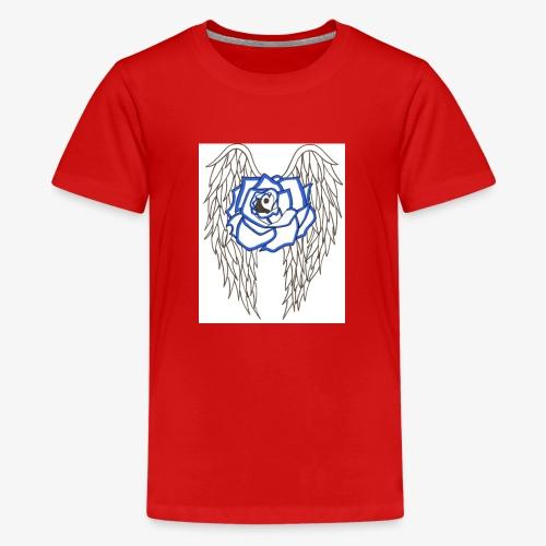 Flying rose - Kids' Premium T-Shirt