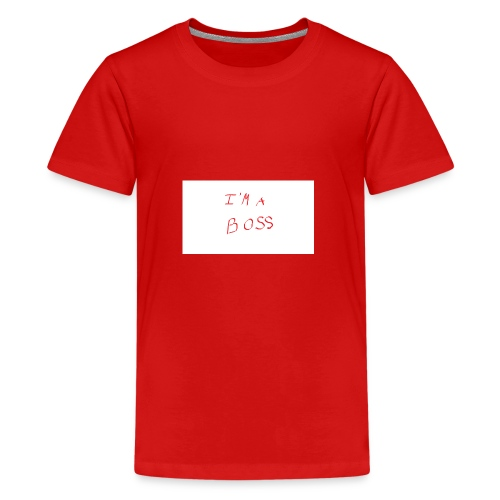 im a boss - Kids' Premium T-Shirt