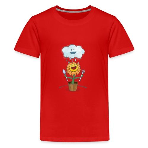 Cloud & Flower - Best friends forever - Kids' Premium T-Shirt