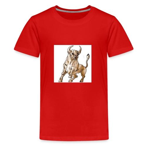 bull icon - Kids' Premium T-Shirt