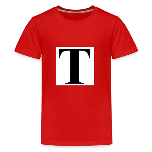 T stand for tavion - Kids' Premium T-Shirt