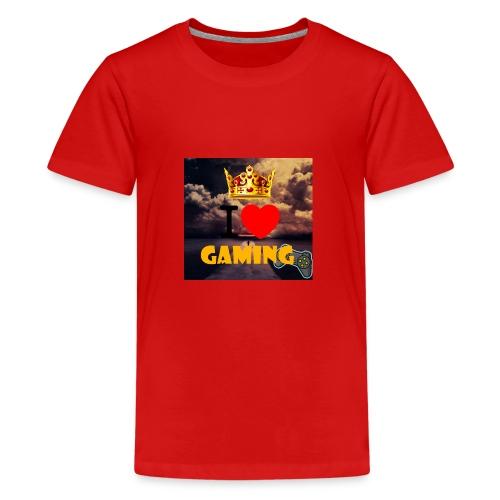 I love gaming merch - Kids' Premium T-Shirt
