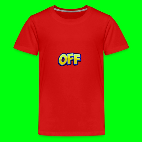 OFF logo - Kids' Premium T-Shirt