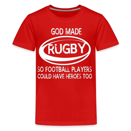 GOD MADE RUGBY SHIRTS - Kids' Premium T-Shirt