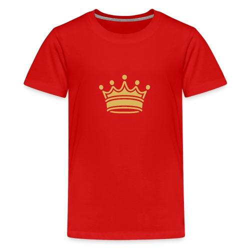86345757b9d3fa46a0c517bc413fc34e crown clip art tr - Kids' Premium T-Shirt
