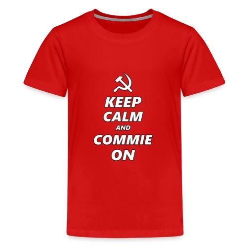 Keep Calm And Commie On - Communist Design - Kids' Premium T-Shirt