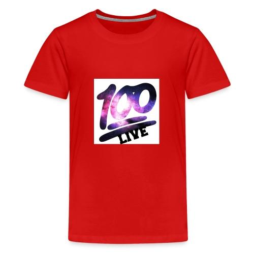 living 100 - Kids' Premium T-Shirt