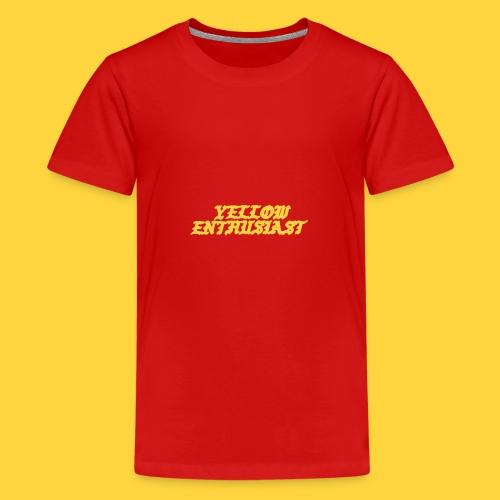 yellow enthusiast - Kids' Premium T-Shirt