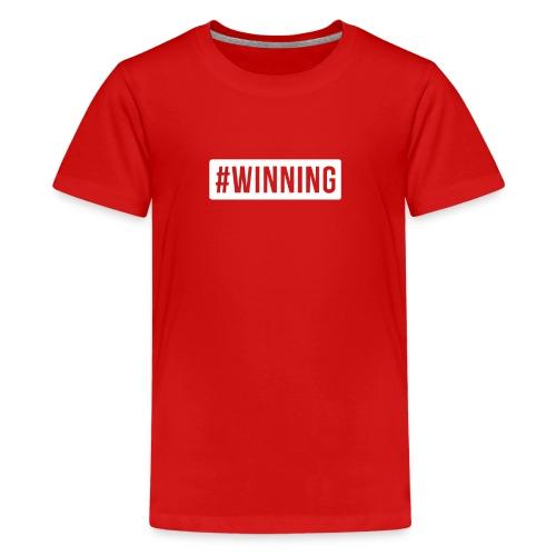 #WINNING - Kids' Premium T-Shirt