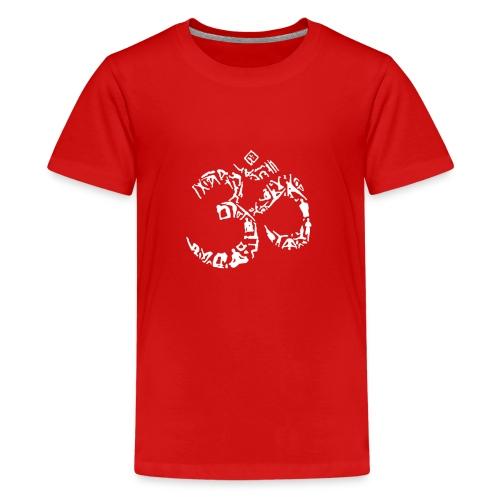 Symbol out of Yoga Poses - Kids' Premium T-Shirt