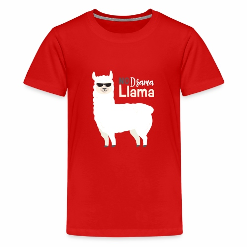 No Drama Llama - Kids' Premium T-Shirt