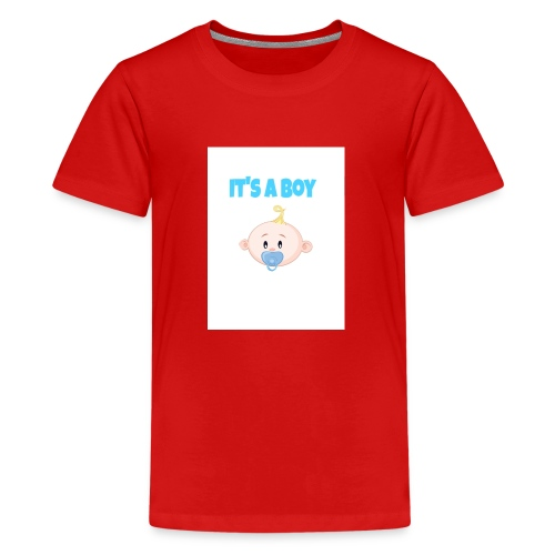 It-s_a_boy_tshirt - Kids' Premium T-Shirt