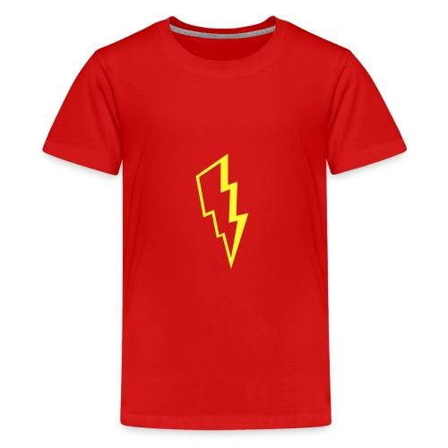Yellow lightning - Kids' Premium T-Shirt