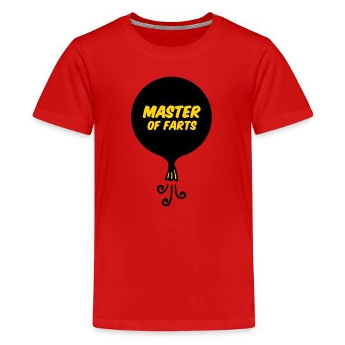 Master of Farts (2 color) - Kids' Premium T-Shirt
