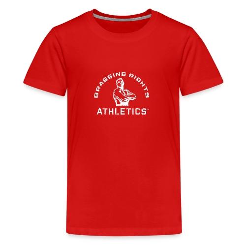 Bragging_RightsTMWhiteT - Kids' Premium T-Shirt